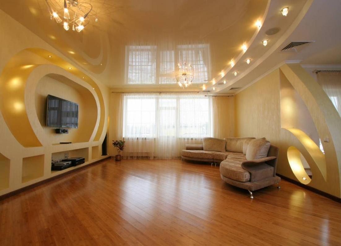 точечное освещение квартиры
