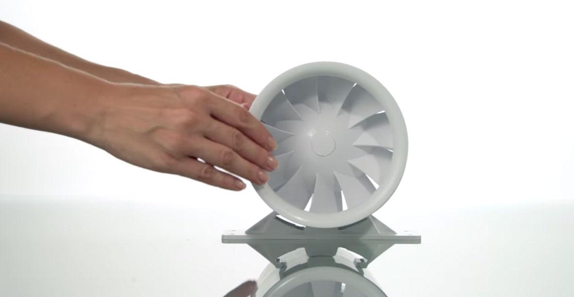 Вытяжные вентиляторы для ванных комнат с обратным клапаном